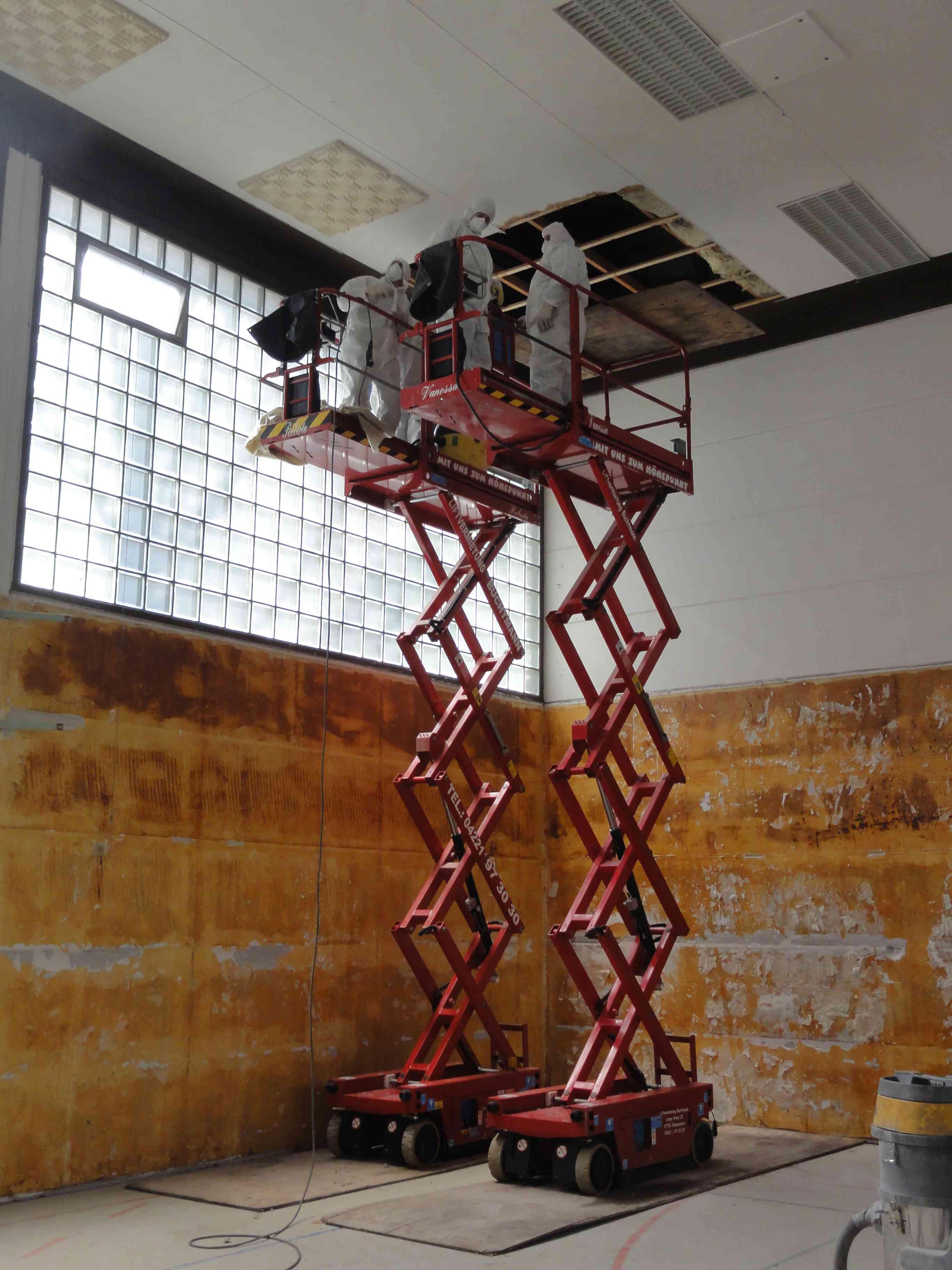 asbest und kmf sanierungen gem trgs 519 und 521. Black Bedroom Furniture Sets. Home Design Ideas